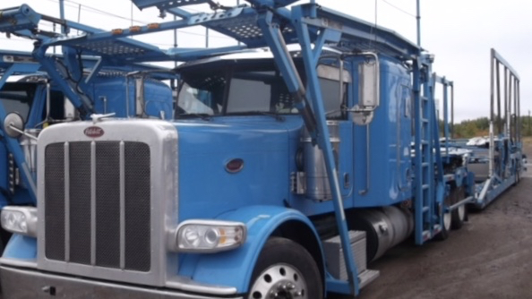 2014 Peterbilt 388 – Cottrell Car Carrier full